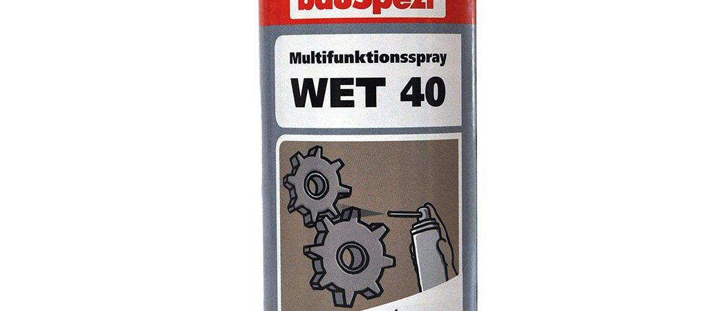 bauSpezi Multifunktionsspray WET 40
